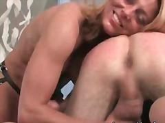 pornotähti, fetissi, strap-on dildo, naisdomina, pari