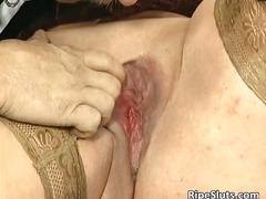 zralý ženský, tlusťošky, prsa, nylonky, velký prsa, hardcore, felace