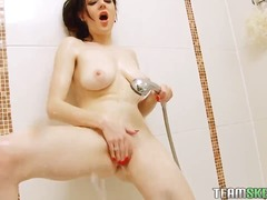 мастурбация, голям гъз, аматьори, соло, баня, воайор