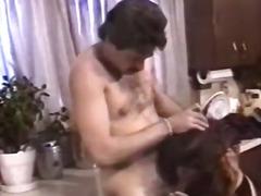 кухня, мъж, групов секс, цици, възрастни, голи жени