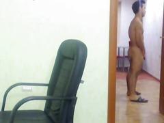 usamljeni, masturbacija, web kamerica, komad, gej