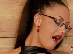 blond, svarta, latex, fitta, tunga, nylon, brasiliansk, tyska, piercing, slida