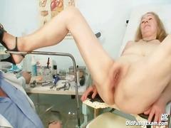 възрастни, камери, широко отворени путки, гинеколог