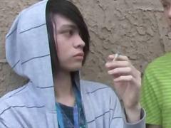 utendørs, tenåring, twink, offentlig, analsex