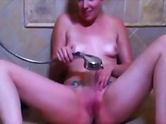 сливи, мастурбация, душ, сперма, баня