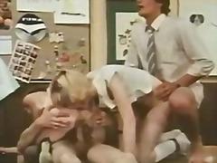 германки, учител, групов секс, празнене, тийнейджъри