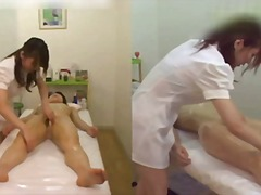 воайор, масаж, пръсти, лесбийки, японки