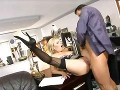 hardcore, secretary, lingerie