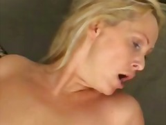 milf, hardcore, harter sex, couch, blond