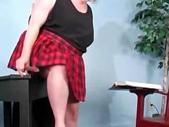 соло, червенокоси, играчка, мастурбация, едри жени