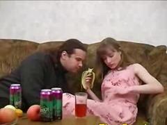 schwanz, eng, bett, betrunken, männlich, hardcore, brünette, blowjob, cunnilingus, girl