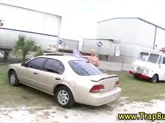 luar rumah, kereta, seks dua hala, isap, awam