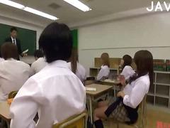 японки, женска доминация, сливи, колеж, азиатки