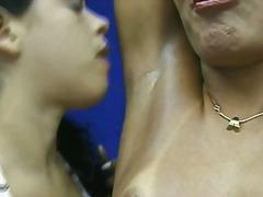 садо-мазо, лесбийки, близък план
