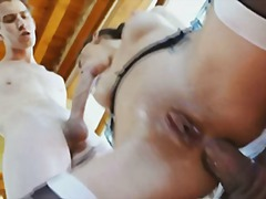 pornostar, hardcore, britisch, penetration, double penetration, dreier