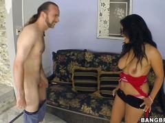 Джесика Банкок, голям бюст, голи, без горнище, корейки