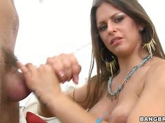 Rachel Roxxx, a lavoro, tette, tettone, cazzo, culo, seno naturale