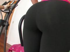 Alana Evans, bontot, tetek, awek, buah dada besar, bekerja, punggung, ketat, cantik, tetek mantap