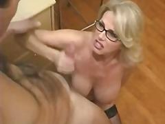 блондинки, големи цици, възрастни, голям кур