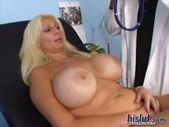 blondiner, mælk, små bryster, bryster, store bryster, brystvorter, store patter, læge, brystjob