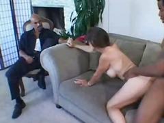 шибане, голям бюст, жена-мъж-мъж, групов секс, мляко