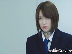 अंतर्जातीय, बालों वाली, एशियन