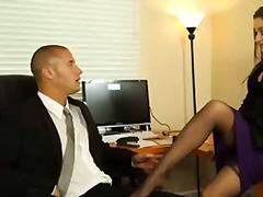 hairy, secretary, boss, naughty, daniels, office, butt, brunette, hardcore, dani