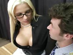 occhiali, insegnanti, da dietro, pornostar, a lavoro, gonna, bionde, tettone, in ufficio, uniformi