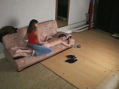 vojadžer, masaža, skrivena kamera, špijun, gaćice, devojka