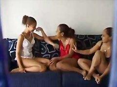 trekantsex, undertøj, lesbiske, spioner, piger, voyeur
