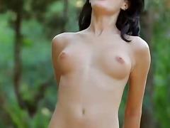 сливи, голи жени, яко ебане, проникване, сред природата