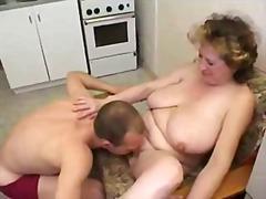 modne, køkkensex, mødre, første gang, dreng