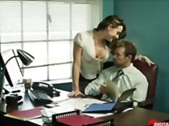 милф, секретарки, на работното място, яко ебане, поли