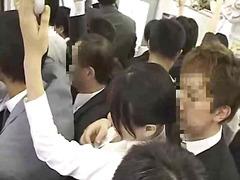 mladý holky, nahota na veřejnosti, venku, japonky, asiatky