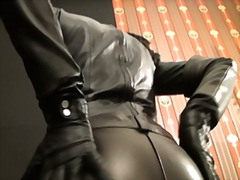dominatie feminina, latex, germance