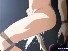 prsa, bondáž, zadečky, hentai, animace, dvojitá penetrace