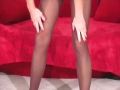 чекия, чорапи, женска доминация, мастурбация, найлон