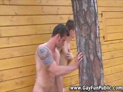 татуировка, сред природата, гей, анално