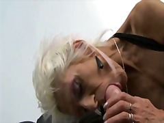 cock, young, blonde, loves, french, deep, granny, ass, anal