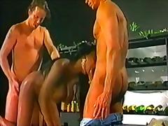 старо порно, междурасово, големи цици, масов секс