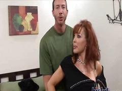 ibu seksi, tetek mantap, stokin, porno hardcore, matang, tetek