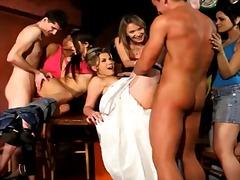 мъж, облечени, жена гол мъж, групов секс, тийнейджъри