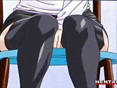 аниме, бондаж, хентай, двойка