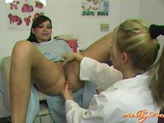 лесбийки, гинеколог