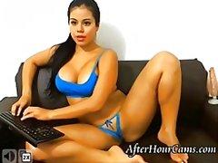 латинки, уеб камера, момичета, цици, соло