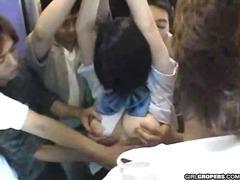 тийнейджъри, публично, пръсти, японки, космати