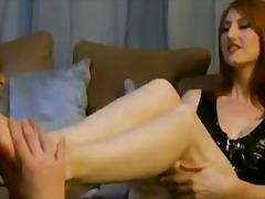 Анастейша Андерсън, големи цици, фетиш с крака