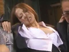 масов секс, азиатки, шибане, секретарки