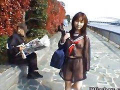 public, asian, girls, solo, outdoors, japanese, brunette