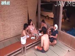 японки, пияни, азиатки, групов секс, оргия, бельо